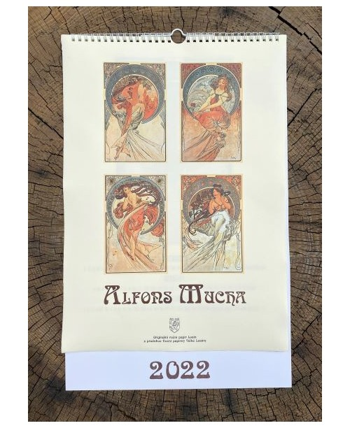 Kalendář - Alfons Mucha