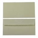 Obálka z ručního papíru DL  110 x 220 mm