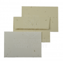 Obálka z ručního papíru tráva 90 x 130 mm
