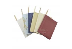 Zápisník s tužkou 12 x 14,5 cm