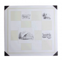 Dopisní sada šachovnice